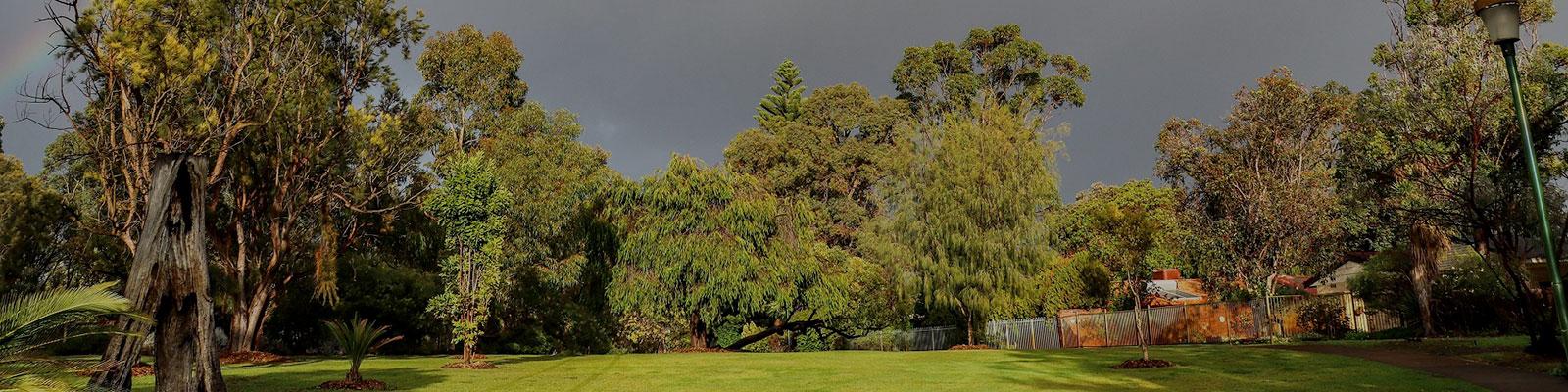 Crestwood stormy sky