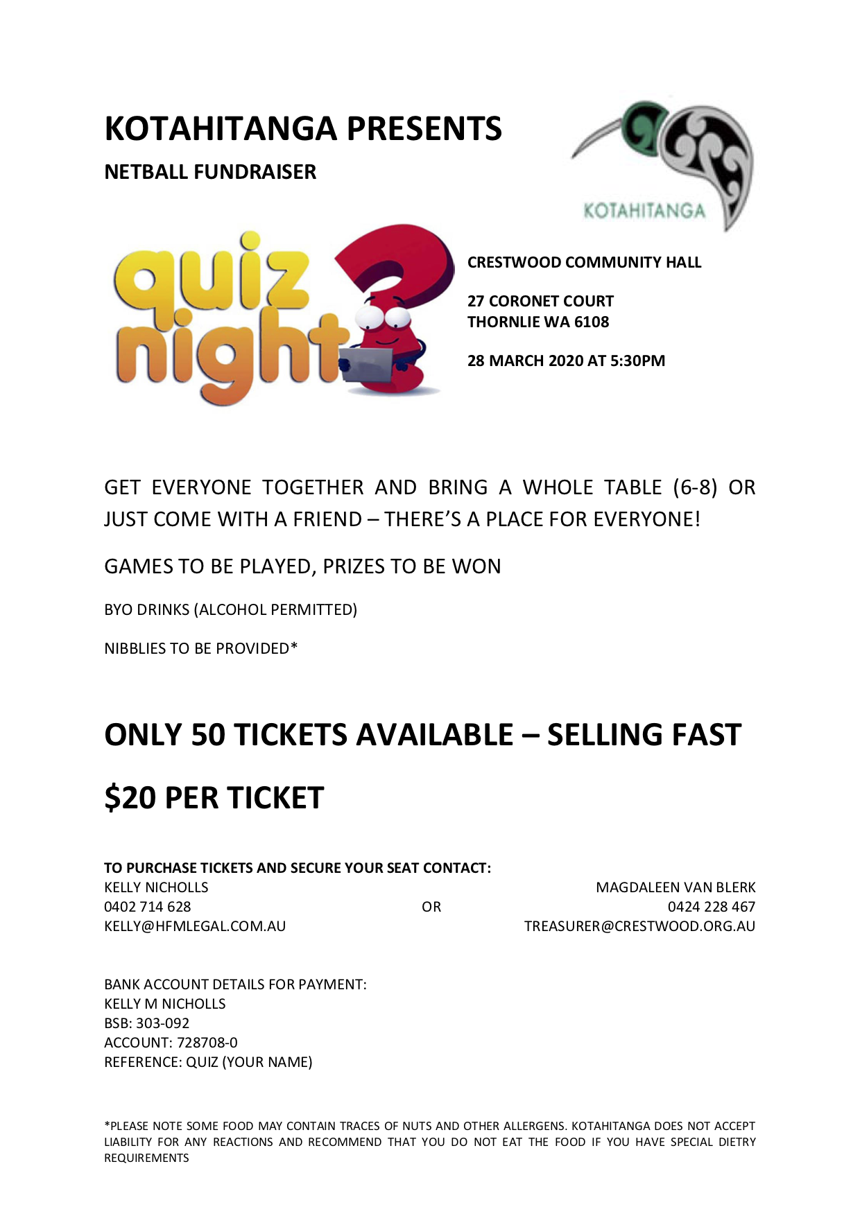 KOTAHITANGA-Quiz-Night-Flyer